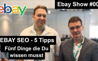 Ebay SEO Tipps 2019 | 5 Dinge die du wissen musst | Baygraph Podcast #005